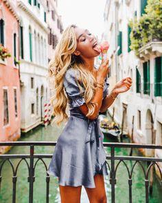"368.8k Likes, 1,321 Comments - Eva Gutowski (@mylifeaseva) on Instagram: ""Fun fact: Italian gelato tastes better in the rain because then all the other tourists run to find…"""