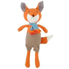 Hazel Village Reginald Fox Organic Cotton Doll
