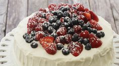 Watch How to Make Berry Chantilly Cake in the EatingWell Video