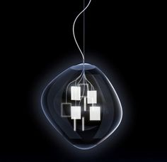 In one of Italy's oldest glass-blowing regions, Murano, the lighting company FDV Collection (a Leucos USA brand) has partnered with Italian architect Massimo Iosa Ghini to unite cutting-edge LED technology with centuries-old tradition. The result is Spore, a pendant light with an artful exterior and high-tech interior.