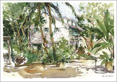 Urban Sketchers: I could get used to living in Key West. Marc Taro Holmes