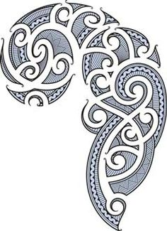 koru designs clip art | Cool Maori Patterns