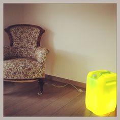 KÖH Concepts Lime Green Lamp