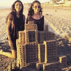 Watchtower buildings Sand Castle.