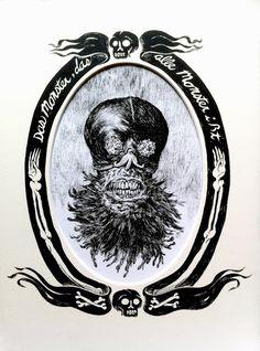 Cool Art: Bernie Wrightson & Steve Niles presents 'Something Spooky' At Guzu Gallery. Art by Troy Nixey