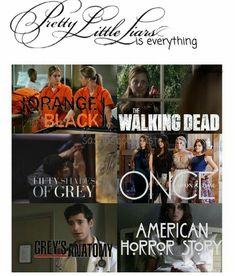 This is so accurate. Pll and ouat are my favorites