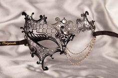 venetian mask luxury | Masquerade Mask - Metal Masks - Filigree Metal Masks