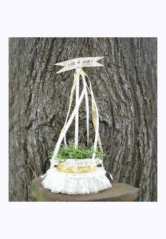 Maypole Wedding Cake Topper  Victorian by AlteredEcoDesigns