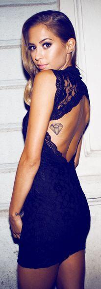 The Black Lace Dress « Kenzas by Kenzas #blackdress #LBD #black