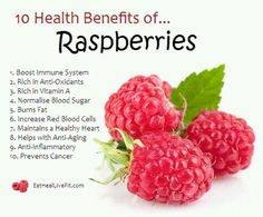 10 Health Benefits of Raspberries