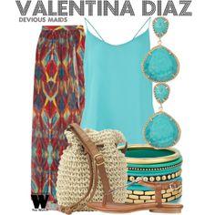 Inspired by Edy Ganem as Valentina Diaz on Devious Maids.