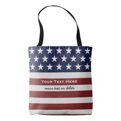 American USA Flag Patriotic July 4th Custom Tote Bag | Zazzle https://www.zazzle.com/american_usa_flag_patriotic_july_4th_custom_tote_bag-256831013910129335