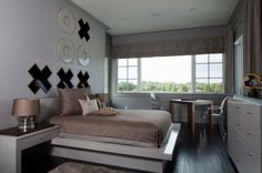 """""""kid's bedroom."""" too much fabulosity for a child to appreciate...lol Sunscape Homes, Inc"""