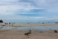 A lonely beach on Koh Tao, Thailand. Freedom beach. The island where time stays still