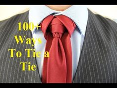 How To Tie a Tie Cobra Knot New Necktie Knots Every Friday - Subscribe and Stay Tuned. Subscribe for 100+ Necktie Knots http://www.youtube.com/user/PatrickNo...