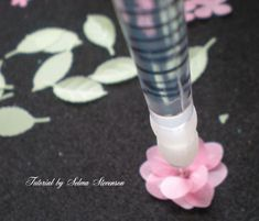 Selma's Stamping Corner and Floral Designs: Tutorial on Making Punched Vellum Flowers