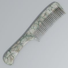 Hair Comb 3D Model- It's Hair Comb.    It's created by Blender 2.63 and exported to .obj format.  There is a comb with  5 different textures.  Textures formats - JPEG 2048x2048. - #3D_model #Collections of 3D Models,#Accessories,#Other 3D Models