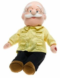 Pancho Grandfather Doll by Baby Abuelita. $29.55. Abuelito Pancho Grandpa Doll. BA0002 2PK Features: -Grandfather doll.-Soft plush.-Press hand to hear song.-Comes with lyrics in Spanish and English.-Comes in packaging designed to look like a rocking chair.-Top toy of the year winner.-Recommended for ages 2+. Includes: -Batteries included.