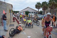 Le Tour de l'Aude Handisport de passage à Gruissan