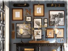 pottery barn statement wall