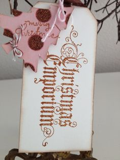 Christmas Gift Tags / Christmas Wedding by PaperSparrowCouture