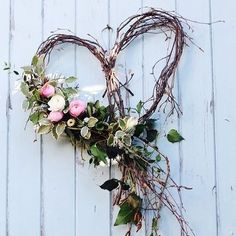 A silver birch heart dressed with seasonal spring flowers and foliage for an April wedding. by Tuckshop Flowers, Birmingham wedding fall ideas / april wedding / wedding color pallets / fall wedding schemes / fall wedding colors november Wedding Wreaths, Wedding Flowers, Wedding Decorations, Spring Decorations, Wedding Heart Wreath, Wedding Dresses, Bridesmaid Gowns, Outdoor Decorations, Valentine Decorations