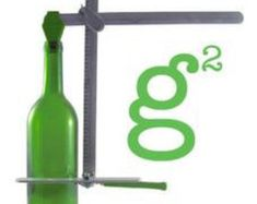 Nueva generación G2 verde botella cortador por stainedglasssupply