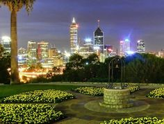 Kings Park in Perth, #Australia. I bet that city view is even more stunning in person!