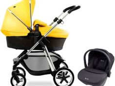 #SilverCross Pioneer Travel System Chrome/Yellow RRP £830.00 | Our price £788.50 http://bucksme.com/activity/p/3905/