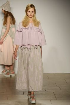 London College of Fashion MA - Autumn/Winter 2015-16 Ready-To-Wear London Fashion Week - Look 40 of 98