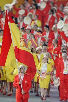 Pekin 2008  La verdad de las fotos del uniforme del equipo olimpico espanol