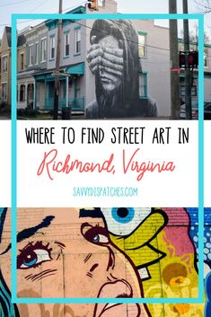 A comprehensive guide to street art in Richmond, VA including an up-to-date map of over 150 local murals. Usa Travel Guide, Travel Usa, Travel Tips, Globe Travel, Budget Travel, Richmond Virginia, West Virginia, Street Mural, Travel Inspiration