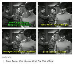 And thats doctor who