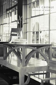 The Pierre Cronje showroom in Wynberg, Cape Town - Wolfe st, Chelsea Village. Cape Town, Side Tables, Furnitures, Coffee Tables, Showroom, Chelsea, Wood, Home Decor, Style