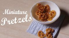 Quick/Easy; Miniature Pretzels - Polymer Clay Tutorial (+playlist)