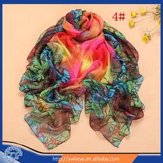 Fashion 2015 desigual chiffon scarf new design women scarves