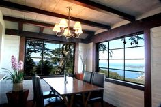 Enjoy panoramic views cooking and dinning - Time Honored Adobe Home - Sweeping Ocean View on 12 Acres. -  - rentals