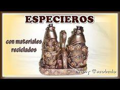 ESPECIEROS CON MATERIALES RECICLADOS - YouTube