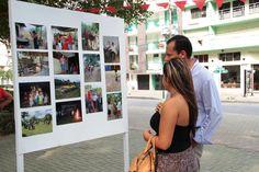 Enzo Ariza, Secretario general del Ministerio de Cultura visita la exposición de fotos