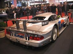 1998 Mercedes AMG CLK-LM, pole position at 24H Le Mans - 2014 Retromobile, Paris
