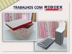 Com REDEEX Aplik Tecidos adesivados você pode revestir os mais diversos tipos e formatos de objetos!