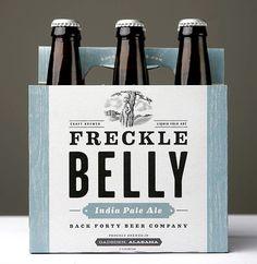 Back Forty Beer Co. featuring amazing type and logo design. Superb work by Mind Volt http://www.mindvolt.com/. #z3