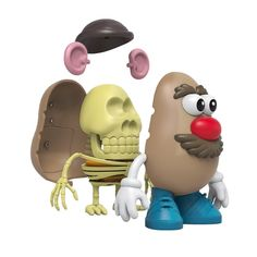 Mr. Potato Head 4D XXRay (JAN2021) #mrpotatohead #xxray #4d #mightyjaxx #fatsuma #potatohead #collectible #toy #designertoy #vinyltoy #arttoy #instagood #beautiful #love #art #fashion #new Pokemon Charizard, Artist Branding, La Colors, Astro Boy, Good Smile, Mickey Minnie Mouse, Designer Toys, Toy Sale, Graffiti Art