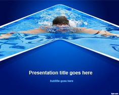 Write down tips regarding how to swim and share your experience learning the freestyle stroke with free Swim PowerPoint template for Microsoft PowerPoint for PC