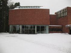 University of Jyväskylä main building: Alvar Aalto