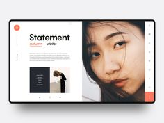 Layout Exploration :: Chap 12 designed by Tran Mau Tri Tam ✪. Connect with them on Dribbble; the global community for designers and creative professionals. Blog Layout, Website Layout, Web Layout, Layout Design, Website Ideas, Homepage Design, Site Design, Brochure Design, Design Design