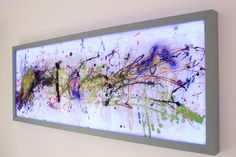 Extra Large Wall ArtAbstract Glass ArtModern by ReformationsUK
