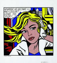 M....Maybe (1965) | Roy Lichtenstein