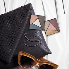 Super pigmentados e com alta fixação: assim são os Quartetos de Sombra Metro Modern e City Sophisticate da Coleção City Modern.