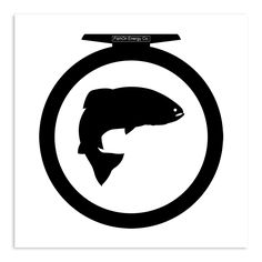 FishOn The Reel Sticker (Indoor Use)